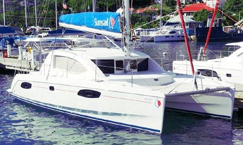 Amazing 2011 Sunsail 384 Cruising Catamaran Rental in Tema'e, French Polynesia