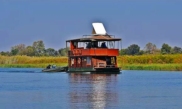 Affordable 4 Days and 5 Nights Houseboat Fishing Trip in Botswana