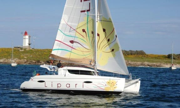 2012 Beautiful Lipari 41 Evolution Cruising Catamaran Rental In C'ote d'Azur, France