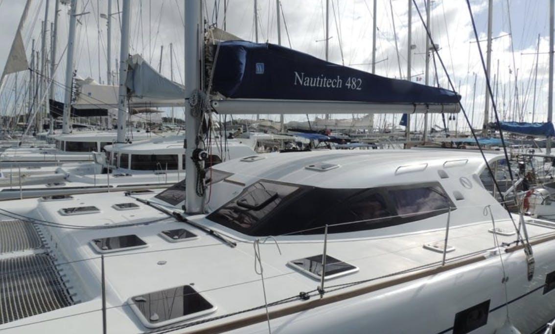 Sail this cruising catamaran Nautitech 48 in Cartagena, Colombia