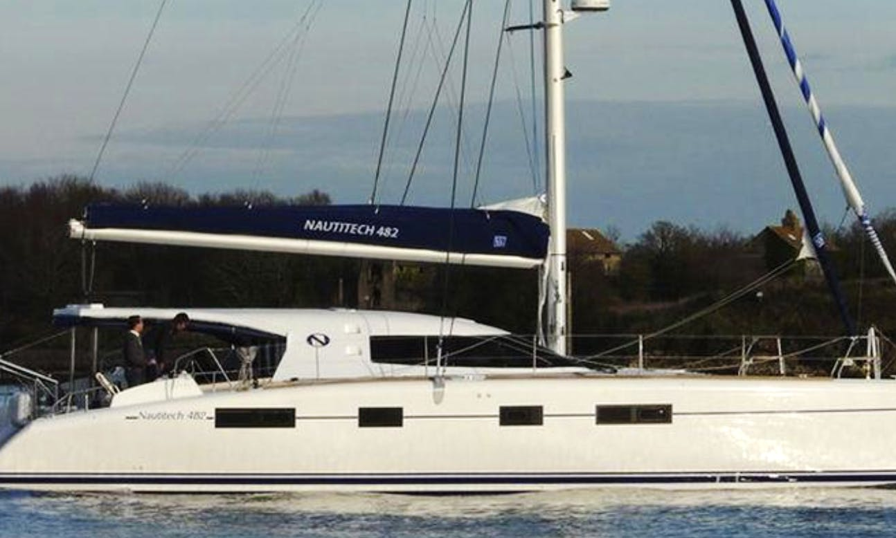 Sail Catamaran Nautitech 48