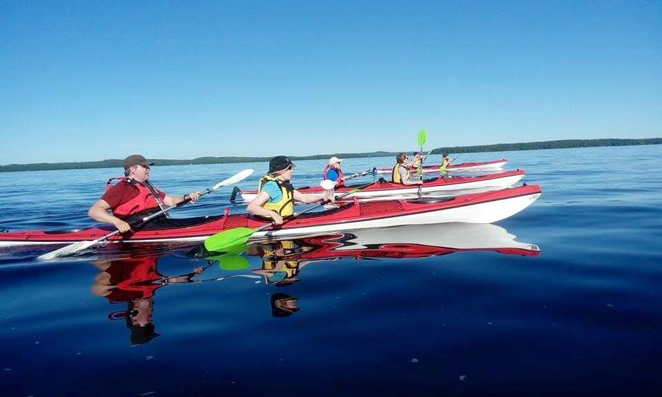 Double Fibergkass Kayaks for Rent in Kuopio