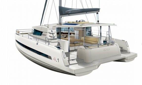 Reserve The 2018 Bali 4.1 O.v. Cruising Catamaran In C'ote d'Azur, France
