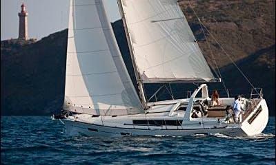 Explore C'ote d'Azur, France On 2015 Oceanis 41 Cruising Monohull