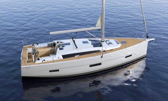Charter The 2019 Dufour 430 Gl Cruising Monohull In Cote d'Azur, France
