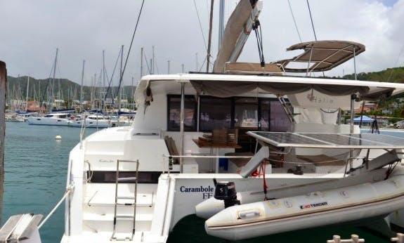 2014 Helia 44 Cruising Catamaran Rental In Le Marin, Martinique