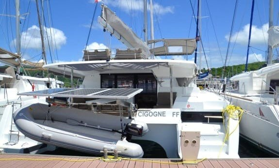 Go Sailing On Saona 47 Cruising Catamaran In Le Marin, Martinique