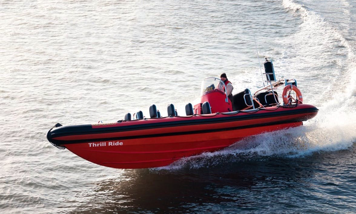 High Speed RIB Thrill Ride on Cork Harbour