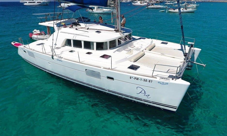 "Charter The 2017 ""Pia"" Lagoon 440 Cruising Catamaran In Barcelona, Spain"