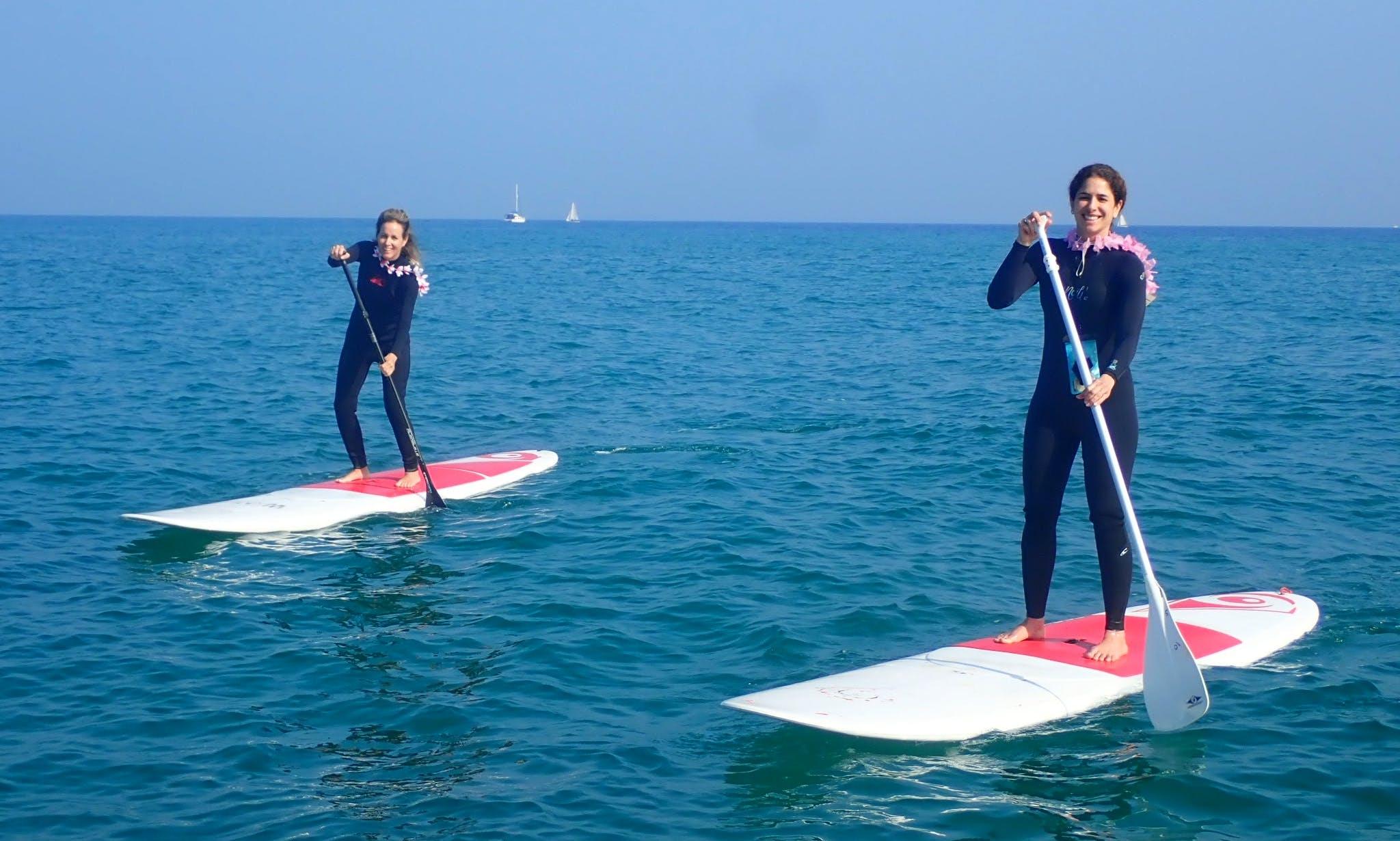 Paddleboard for rent in Herzliya