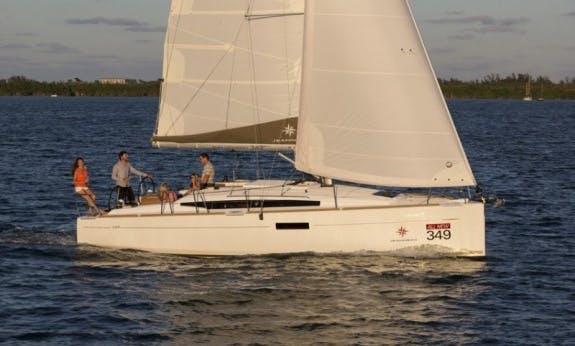 Beautiful 2019 Sun Odyssey 349 Sailing Yacht Ready To Book In Kos, Greece