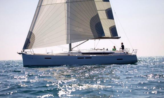 Sun Odyssey 449 Bareboat Cruising Monohull Charter for Up to 10 People in Trogir, Croatia