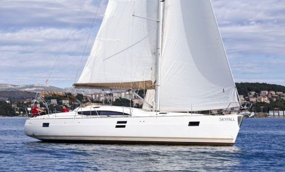 Explore Trogir, Croatia Aboard this Elan 45 Impression Cruising Monohull for Up to 10 People