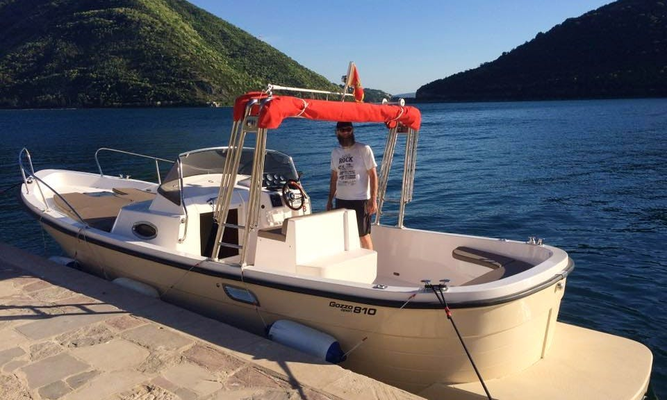 Private Boat Tour and Fishing Trip in Kotor