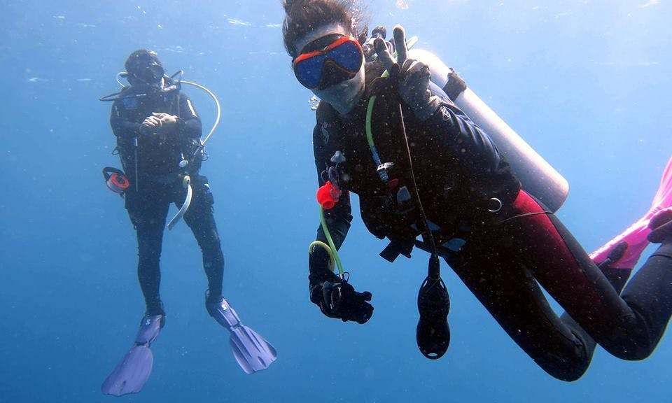 Introductory Scuba Diving in Manggis, Bali