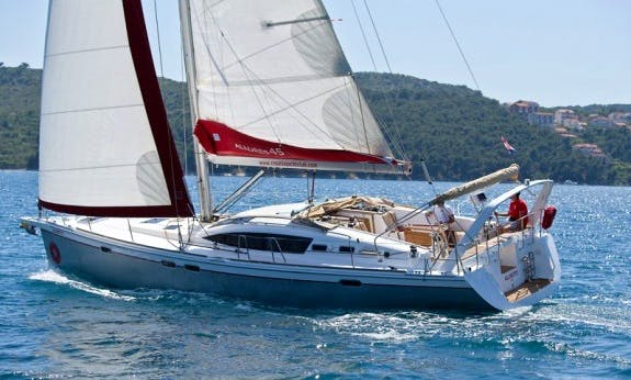 Explore Trogir, Croatia Aboard Allures 45 O.v. Cruising Monohull for 8 People