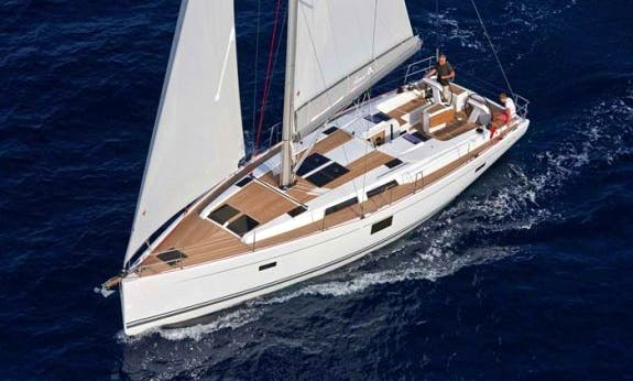 Charter a Cruising Monohull Hanse 455 for 10 People in Trogir, Croatia