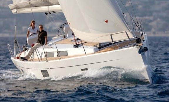 Charter a Cruising Monohull Hanse 455 for 10 People in Trogir, Croatia