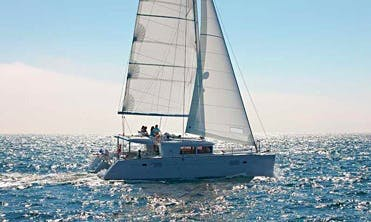Lagoon 450 F Cruising Catamaran Charter in  Trogir, Croatia with A/C and Water Maker