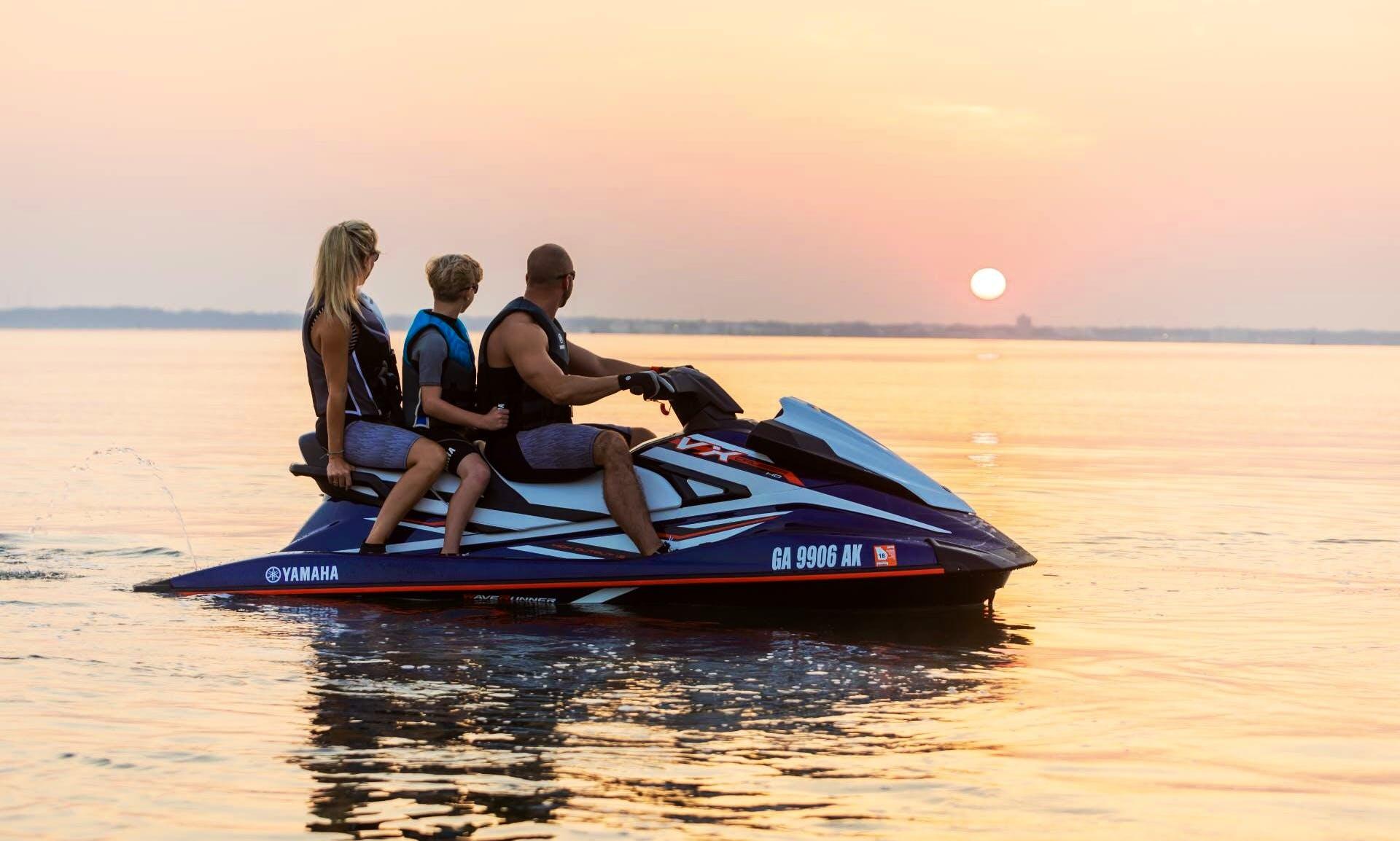2019 Yamaha VX Cruiser Ho 1.8 Jet Ski Rental In Miami, Florida