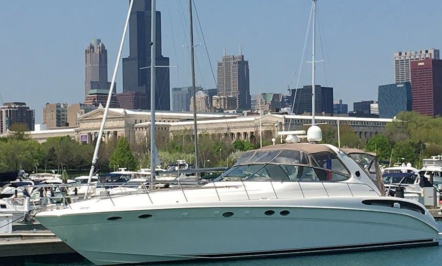 Enjoy Chicago's Lakefront on Our Magic 54' SeaRay Sundancer