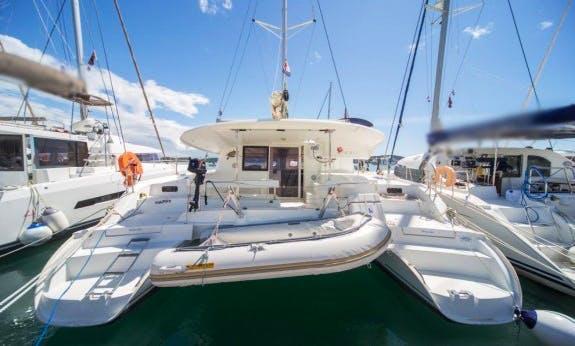 Lipari 41 Cruising Catamaran in Seget Donji, Trogir