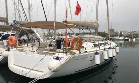 Sailing Holidays In Greece On 2015 Dufour 450 Gl Cruising Monohull