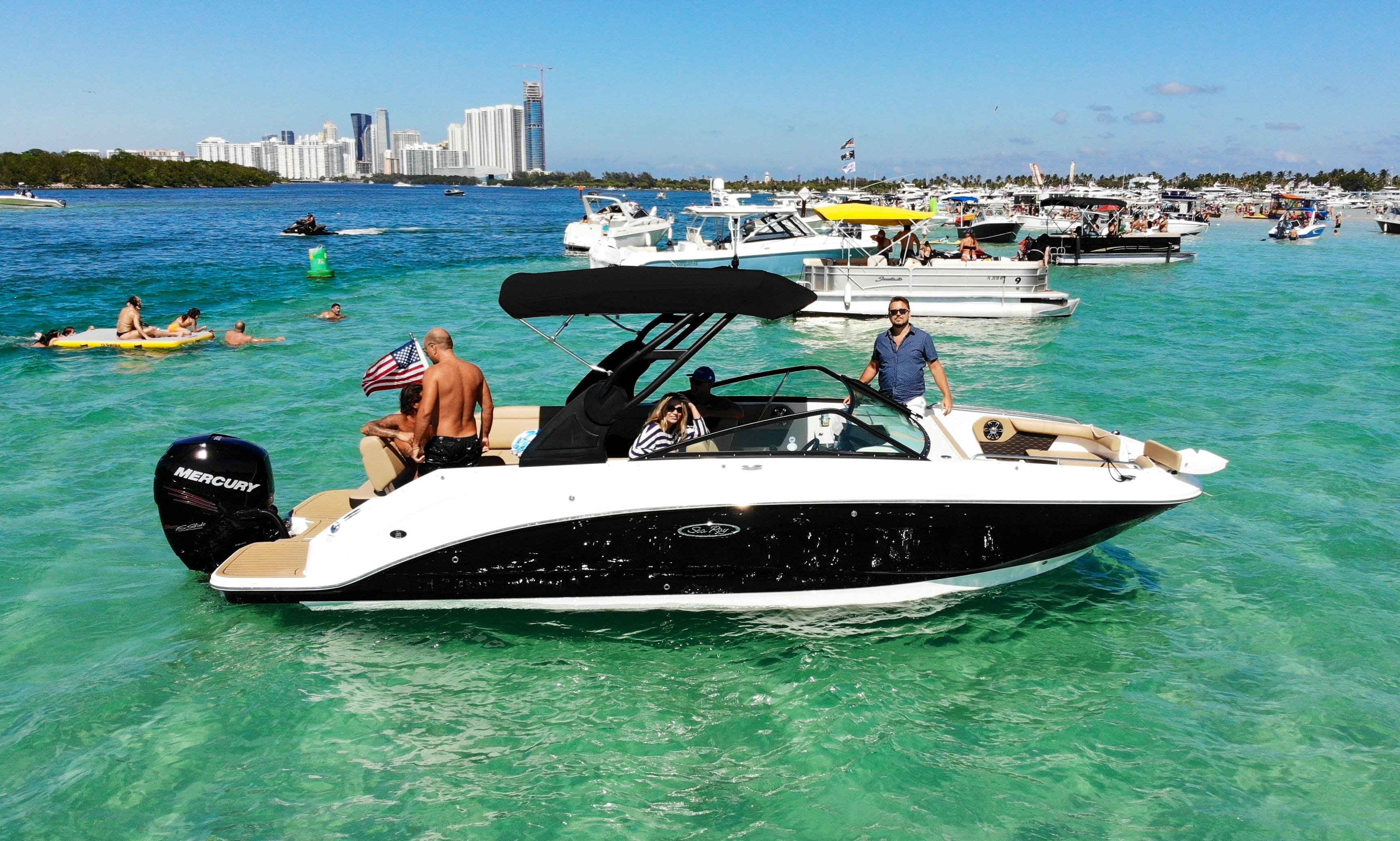 2019 Sea Ray 250 SDX - Dock-side Pickup Available