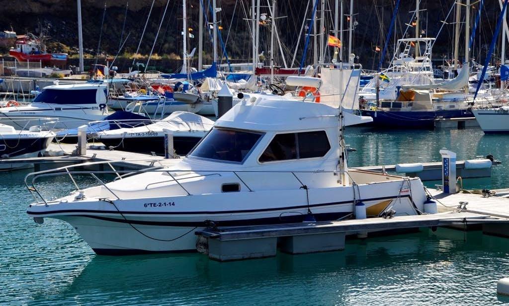 Astinor 840 Motor Yacht Charter in Tazacorte, La Palma