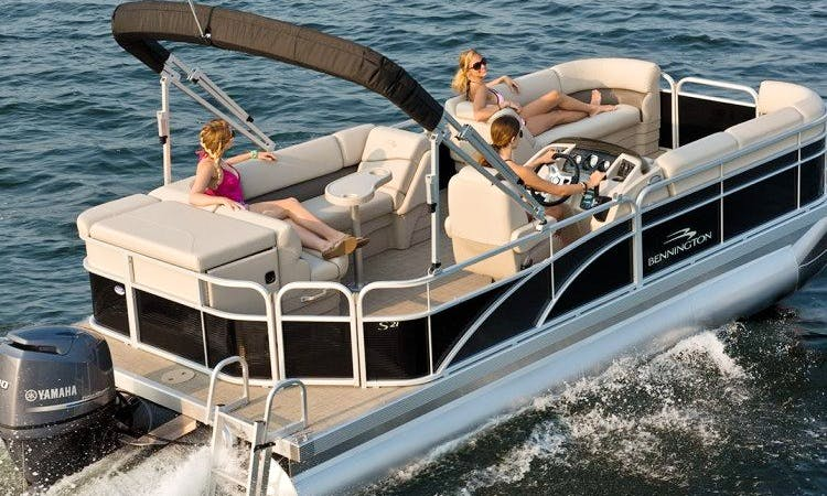 Pontoon rental in Fort Walton Beach