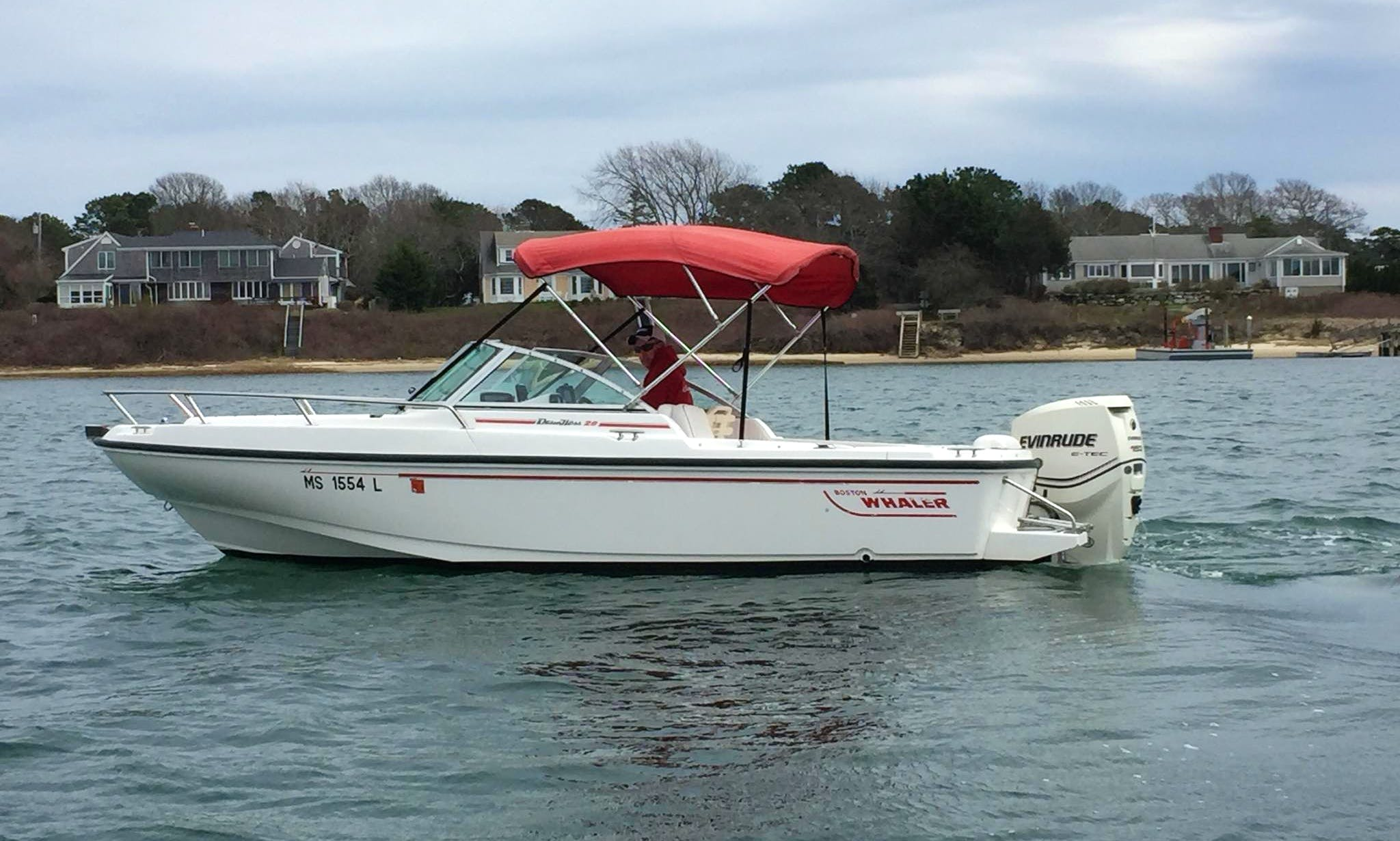 Rent 24' Boston Whaler Boat in Cape Cod