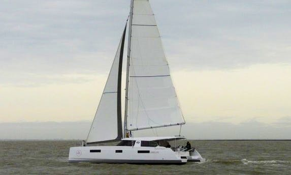 Charter Nautitech 40 Open Catamaran with RIB Dinghy in Šibenik, Croatia