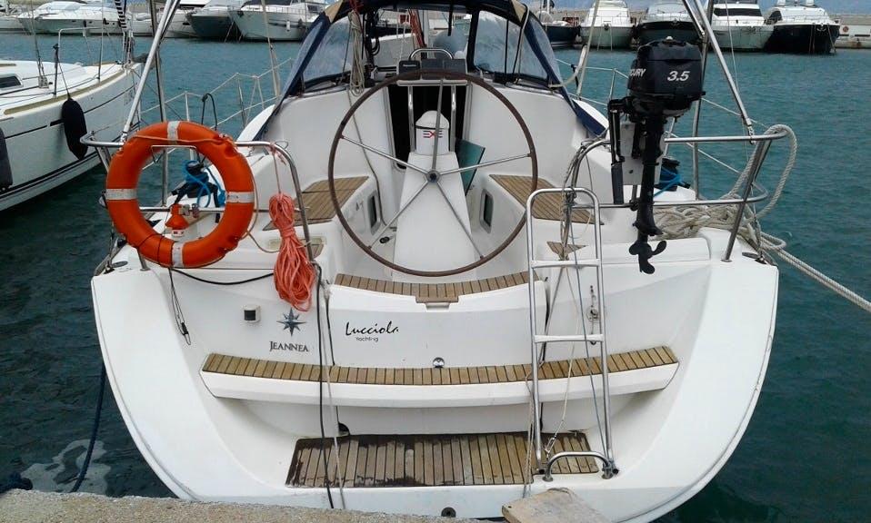 Sailing yacht jeanneau Sun odyassey 36