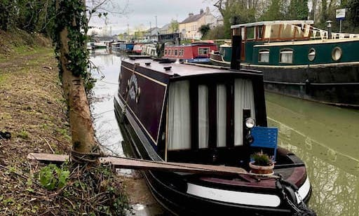 Canal Narrowboat in County Kildare