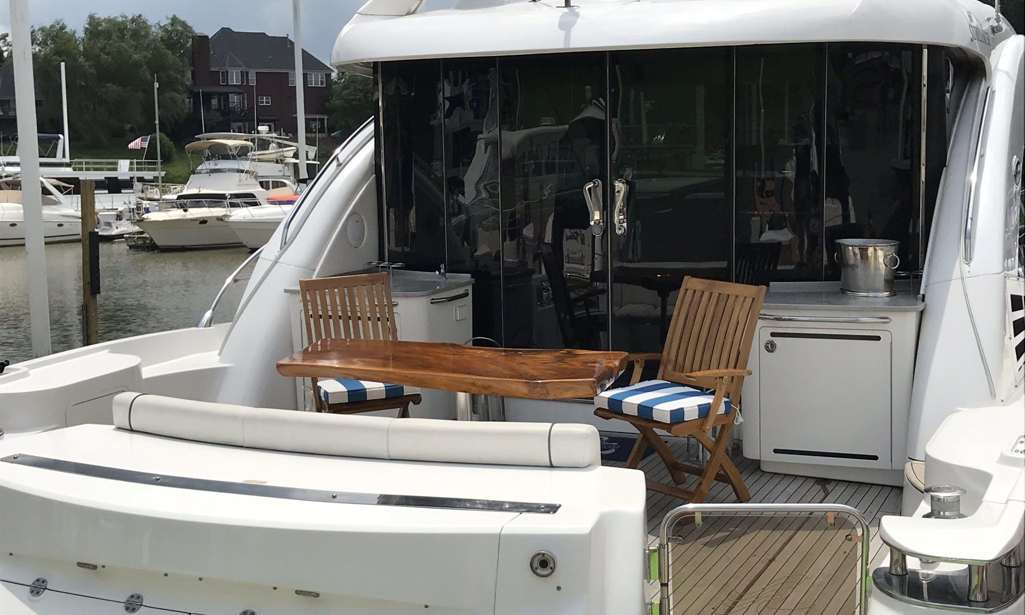 Motor Yacht rental in Prospect