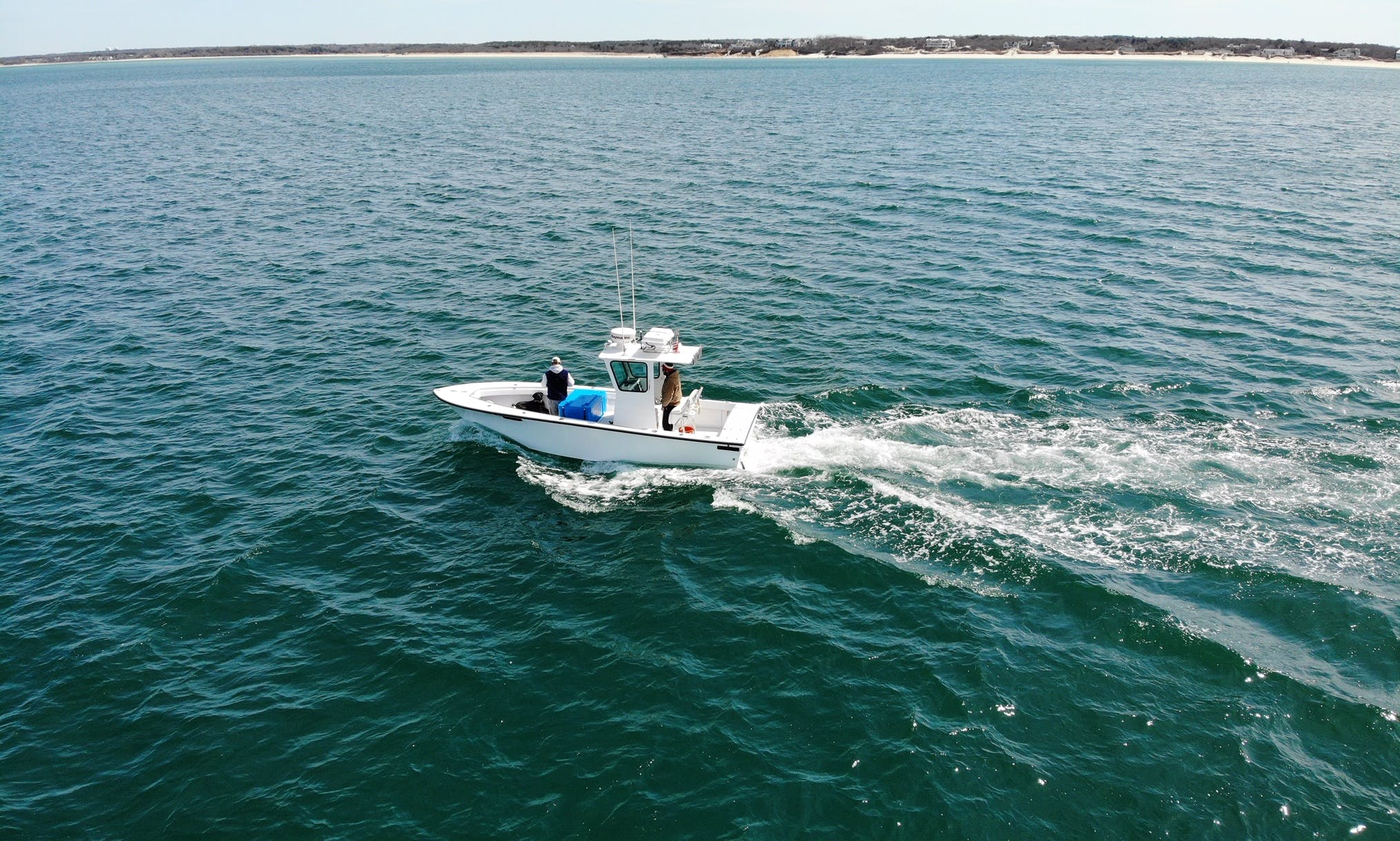 23 ft Fishing Boats Rental for 4 People in Barnstable, Massachusetts
