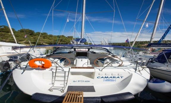 Explore Šibenik, Croatia On 2008 Harmony 52 Cruising Monohull!