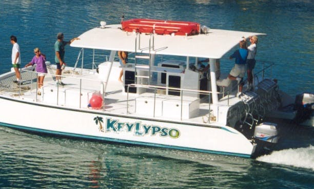 Keylypso - 34 ft. Party Catamaran in South Florida
