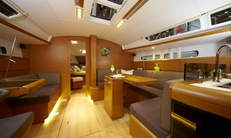 Book The 2019 Sun Odyssey 449 Cruising Monohull In Nieuwpoort, Belgium