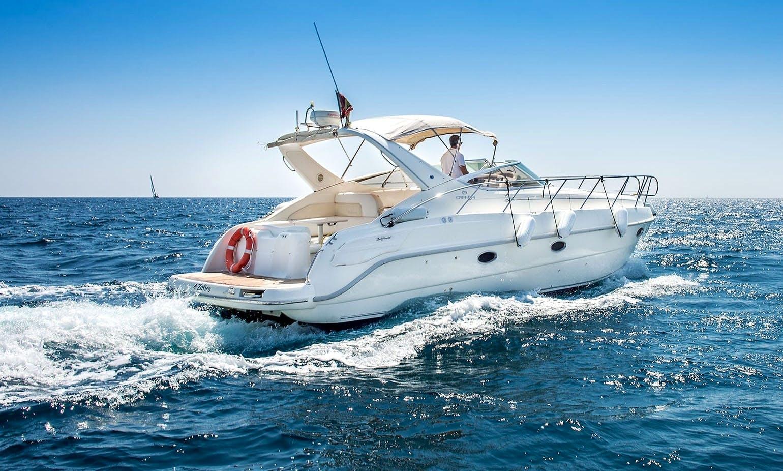 Spend Great time in Porto Rotondo, Sardegna aboard Cranchi 34