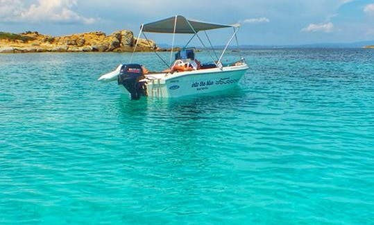Rent A Boat in Vourvourou without a License