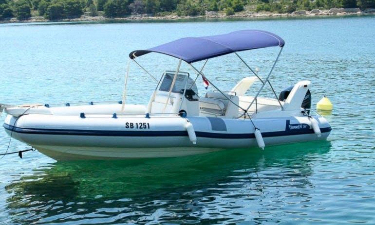 Amazing Marlin Boat 20 RIB Rental In Golfe-Juan, France