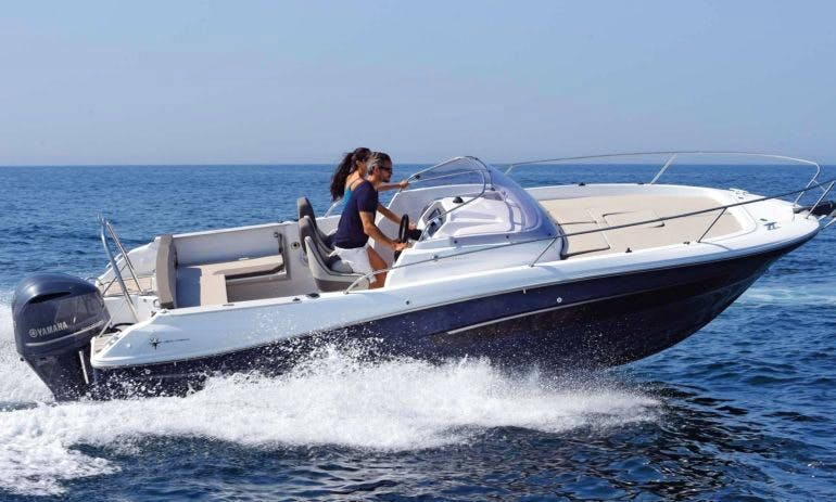 Reserve The Jeanneau Cap Camarat 7.5 WA Bowrider In Vallauris, France