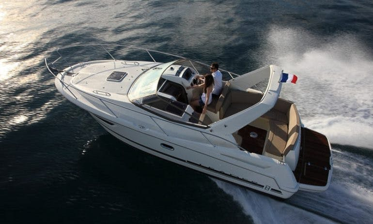 Jeanneau Leader 8 Diesel Motor Yacht Rental in Vallauris, France