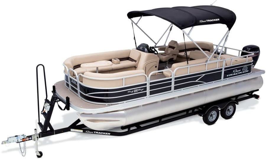 Suntracker Party Barge DLX 22 Pontoon