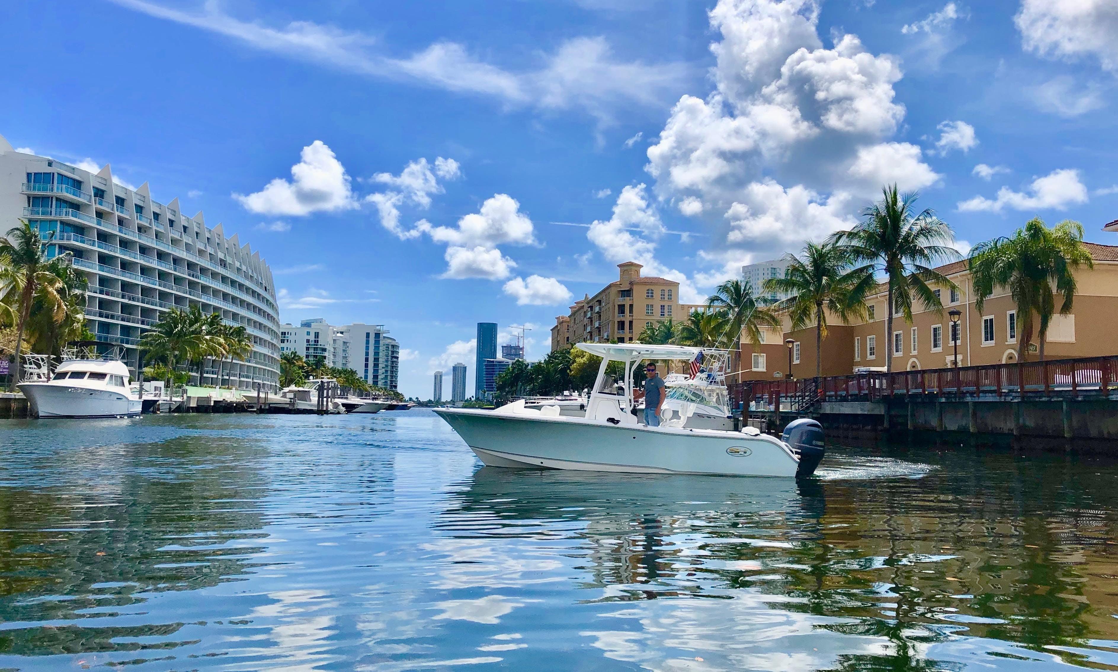 Center Console rental in Miami - Aventura