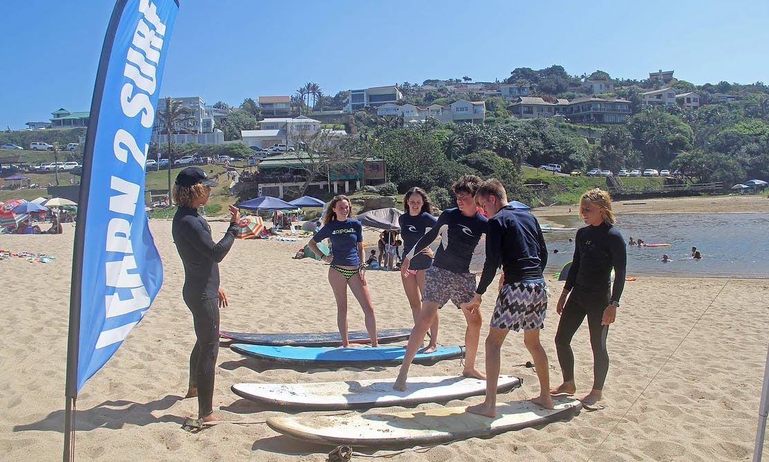 1 Hour Private Surf Lesson In KwaZulu-Natal, South Africa