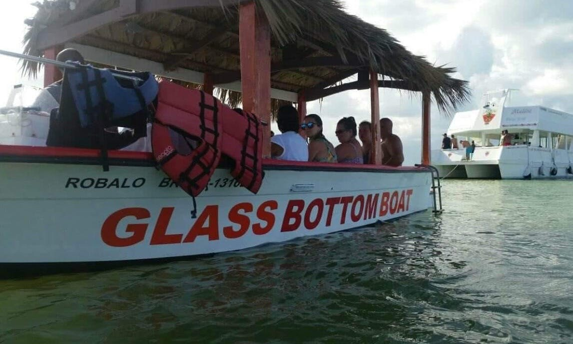 Glass Bottom Boat Tour for 20 People in Punta Cana
