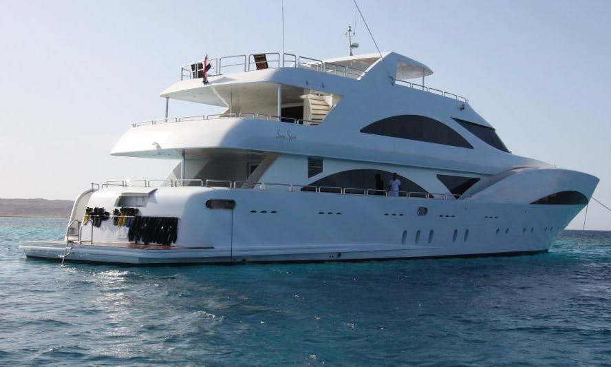 Mega Yacht M/Y Seven Spices rental in Red Sea Governorate