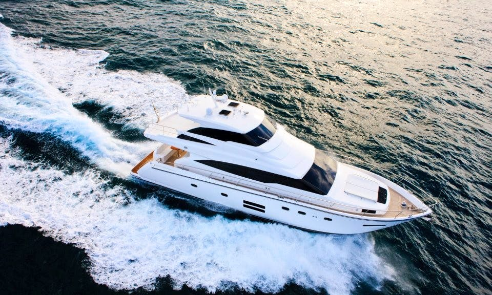 65' luxury yacht for 18 people at Keelung Badouzi Marina, Taiwan
